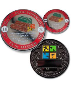 10 Hides Geo Achievement® Award Coin Set