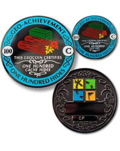 100 Hides Geo Achievement® Award Coin Set
