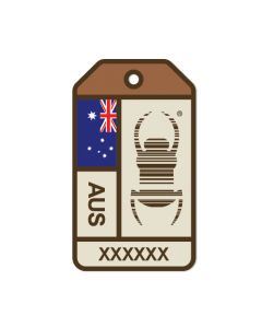 Travel Bug® Origins Sticker-  Australia