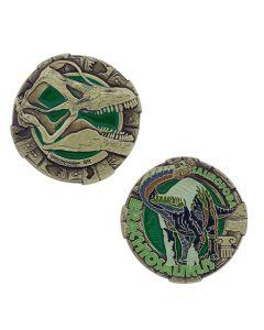 Dinosaur Geocoin-  Brachiosaurus