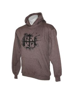 Brown Heather Cache Attack Hoody