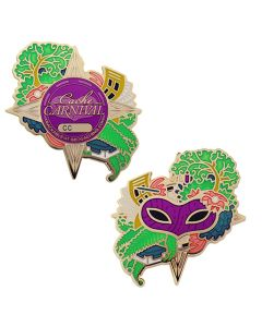 Cache Carnival Geocoin and Trackable Tag Set