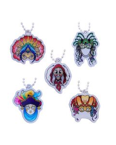 Cache Carnival Souvenir Trackable Tag Set- All 5 Tags