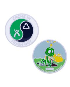 CITO Full Size Geocoin- Signal the Frog®