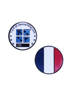 Country Micro Geocoin- France