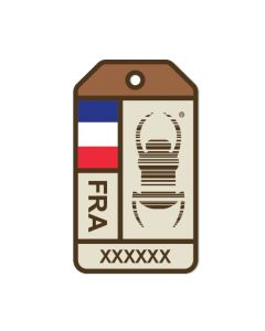 Travel Bug® Origins Sticker-  France
