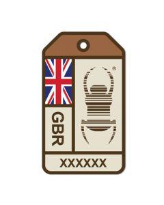 Travel Bug® Origins Sticker-  United Kingdom