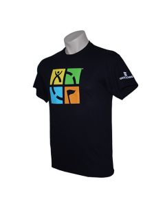 Geocaching Logo Tee- Black