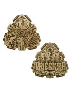 Trifecta Geocoin- Bronze Finish