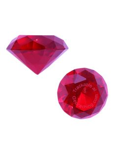 Trackable GeoGems™ - Red