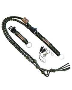 The Ultimate Trackable Lanyard - Olive Drab/Moss Green
