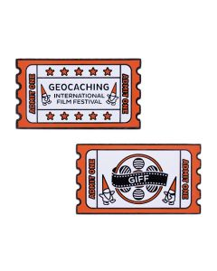 GIFF Geocoin and Companion Tag Set