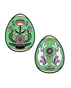 2019 Egg Geocoin- Green