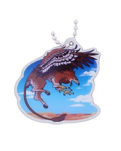 Hidden Creatures Travel Tag- Gryphon