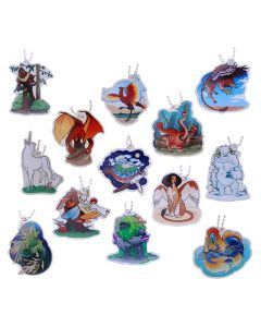 Hidden Creatures Travel Tag Set-  All 13 Tags