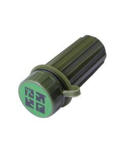 Waterproof Match Case - Green