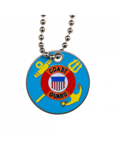 Military Travel Tag - Coast Guard
