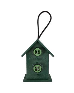Mini Double Birdhouse Cache Container