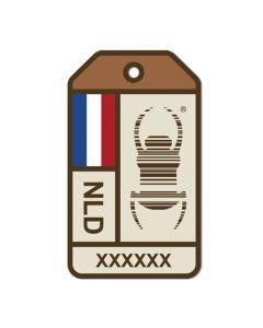 Travel Bug® Origins Sticker-  Netherlands