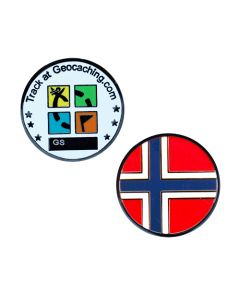 Country Micro Geocoin-Norway