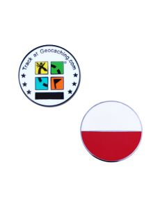 Country Micro Geocoin- Poland