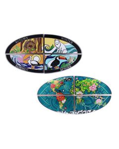 4 Seasons Geocoin - Set of All 4