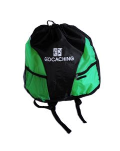 Official Geocaching Drawstring Pack