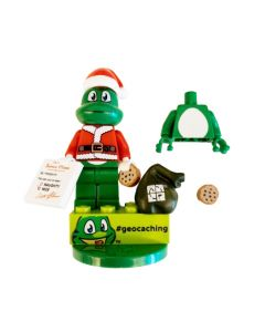 "Santa Torso kit with Signal the Frog® 2"" Figure and Trackable Brick!"