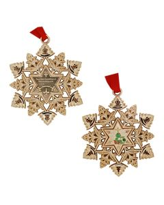 Snowflake Ornament Geocoin- Decorating