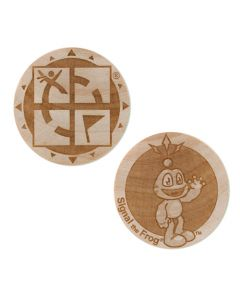 Wooden Nickel SWAG Coin- Signal The Frog®