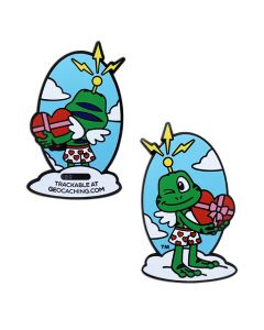 Signal the Frog® Cupid Geocoin- Last Chance!!!