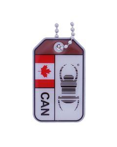 Geocaching Travel Bug® Origins- Canada