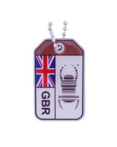 Geocaching Travel Bug® Origins- United Kingdom