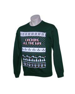 Caching All the Way Festive Crewneck Sweatshirt