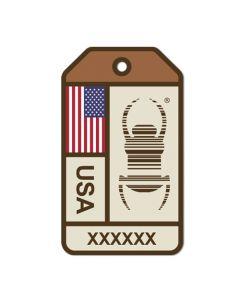 Travel Bug® Origins Sticker-  United States