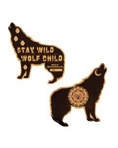 Wolf Geocoin- Black