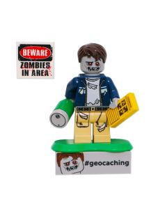 Zombie Cache Hunter and Trackable Brick Set
