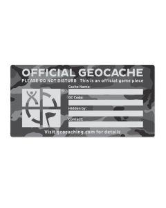 X-Large Cache Label- Urban Camo