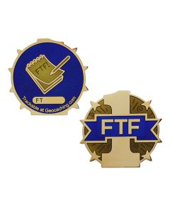 First To Find Full Size Geocoin