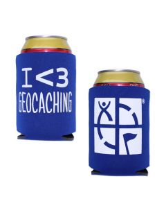 Geocaching Coozy- Blue