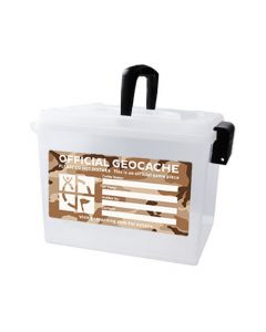 Extra Large Ammo Can Geocache Container - Desert Camo