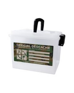 Extra Large Ammo Can Geocache Container - Green Camo