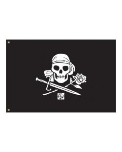 Pirate Flag (2' x 3')-  The Lost Treasure of Mary Hyde
