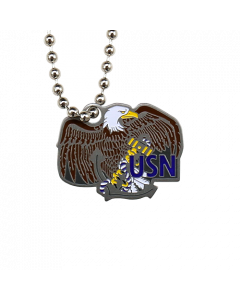 Military Travel Tag - Navy
