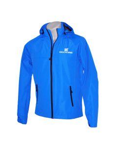 Waterproof Geocaching Rain Jacket- Blue