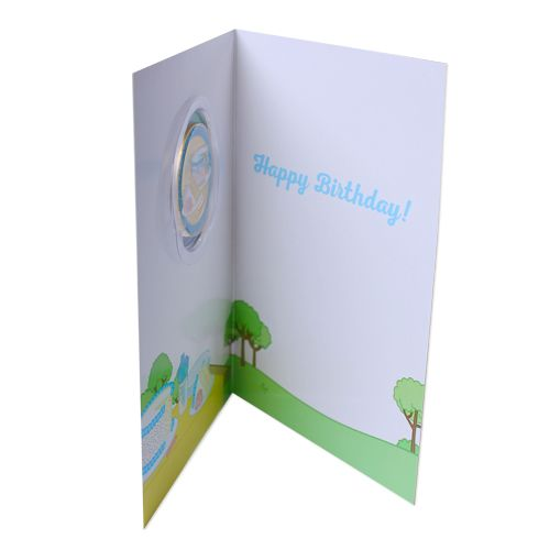 Birthday Card And Coin Set Inside