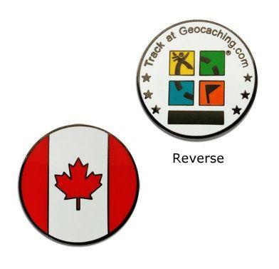 country micro geocoin canada rh shop geocaching com Geocaching Logo Green Geocaching Do Not Remove Logo