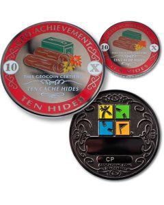 10 Hides Geo Achievement® Award Coin Set