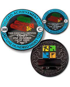 100 Hides Geo Achievement® Award Coin Set