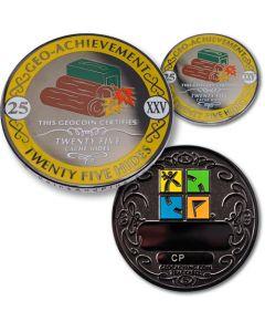 25 Hides Geo Achievement® Award Coin Set